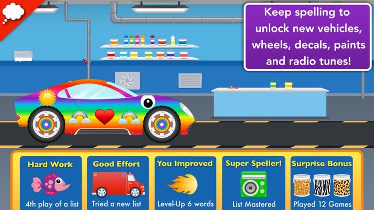 Car Factory: Spelling Game screenshot-3
