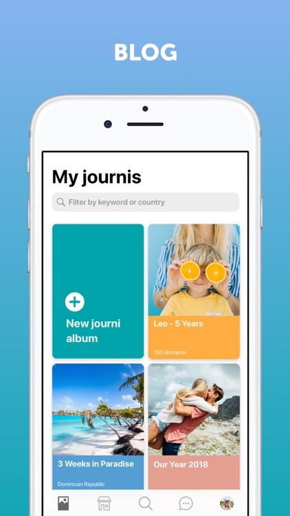 Journi Journal & Photo Book screenshot-0