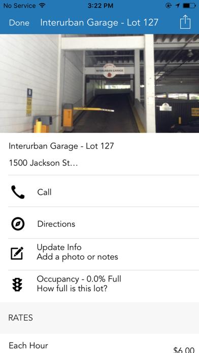 Dallas Parking screenshot 2