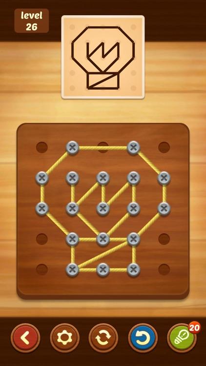 Line Puzzle: String Art screenshot-6