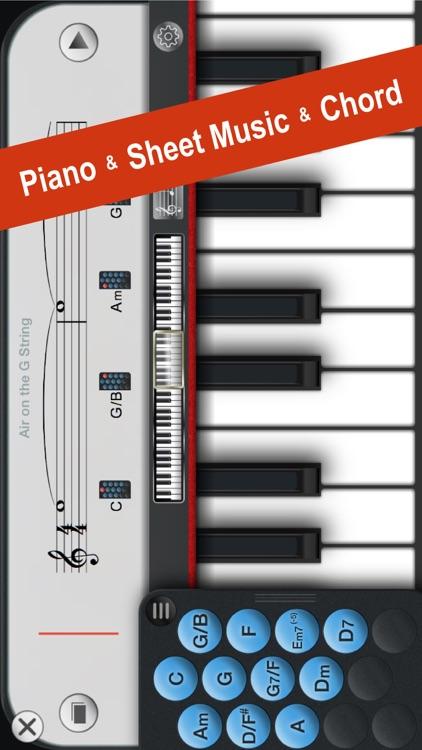 Piano+ - Playable with Chord & Sheet Music screenshot-0