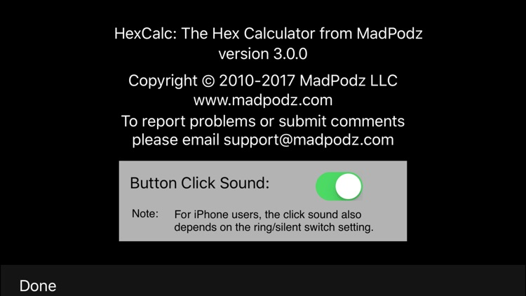 HexCalc-Hexadecimal Calculator