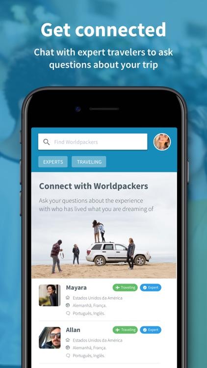 Worldpackers: Travel the World screenshot-3