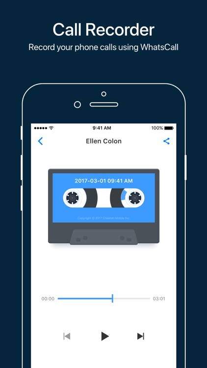 WhatsCall-Calling App+Recorder