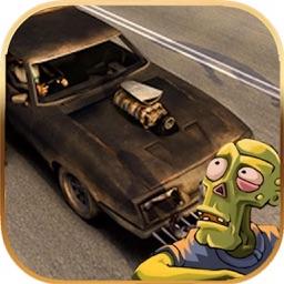 Zombie Die Road Car Drive