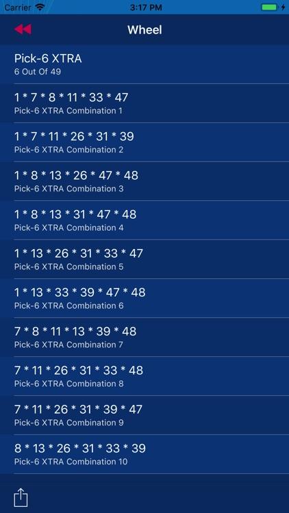 Lotto Wheels screenshot-4