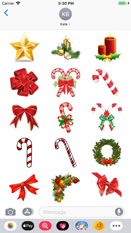 Christmoji - Christmas Sticker screenshot-5