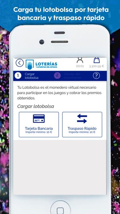 Loterías y Apuestas del Estado screenshot-4