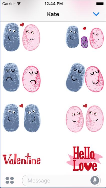 Valentine Smiles Sticker Pack screenshot-3