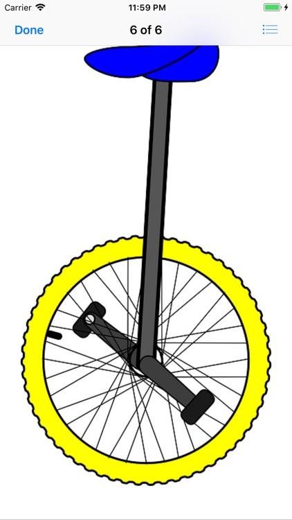 Unicycle Sticker Pack screenshot-4