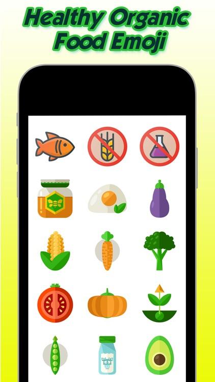 Healthy Organic Food Emoji