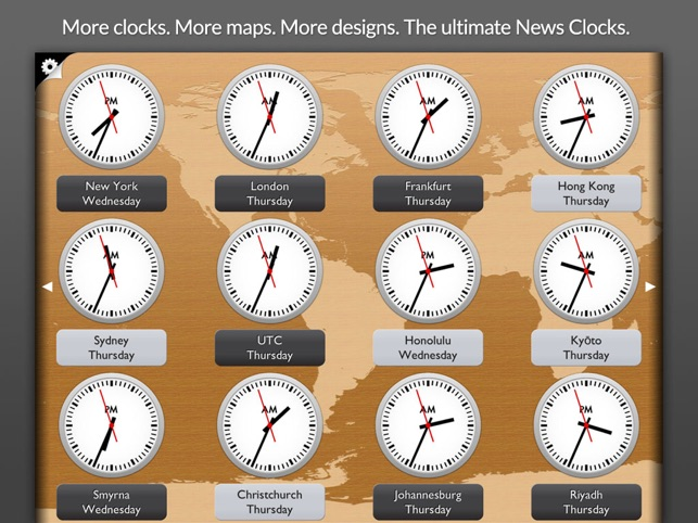 News Clocks Ultimate Screenshot