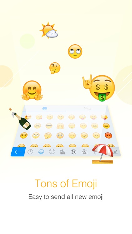 Facemoji Emoji Keyboard screenshot-4