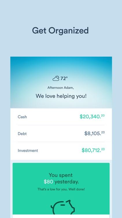 Clarity Money - Budget Planner
