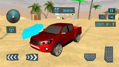 ビーチトラック水サーフィン - 3D楽しむドライブシムのおすすめ画像2