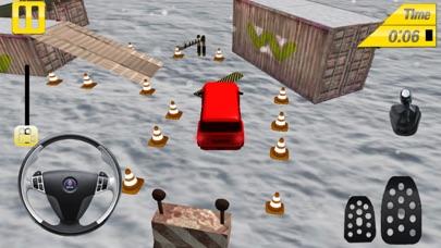 Prado Snow Parking Screenshot