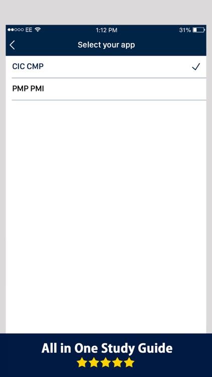 CMP & PMP Ultimate Exam Prep screenshot-4