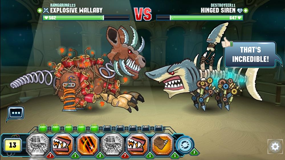 Mutant Fighting Arena hack tool