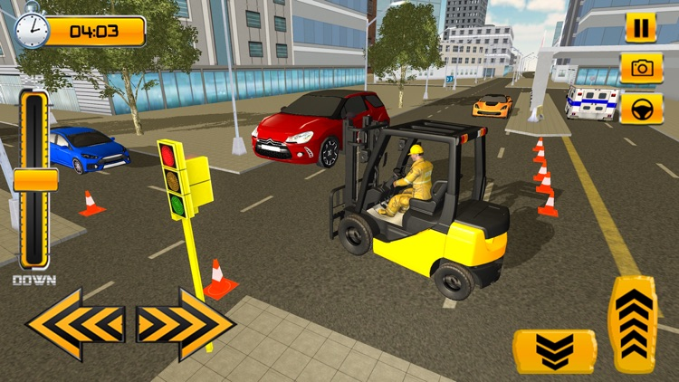 Forklift Simulator Game 2018 screenshot-0