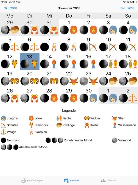Mondkalender - Moony Screenshots