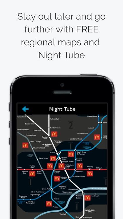 London Tube Map screenshot-4