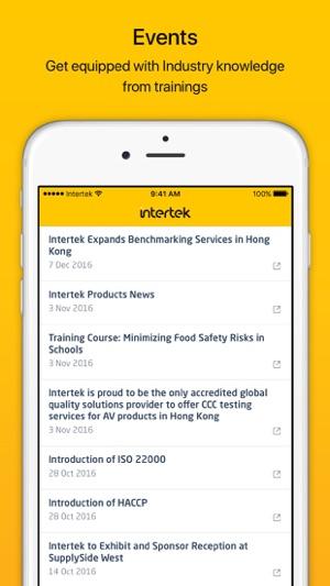 Intertek - Job Tracker on the App Store