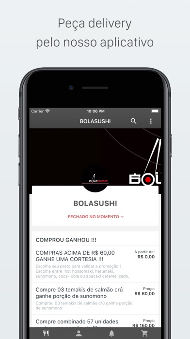 Screenshot for BOLASUSHI Delivery in United States App Store