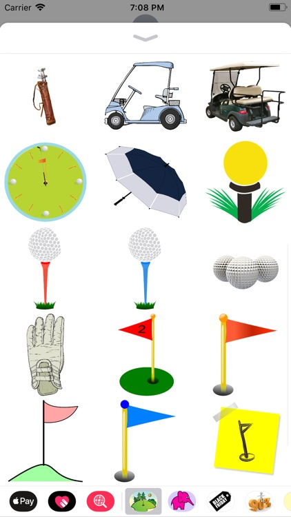 Goofy Golf Sticker Pack