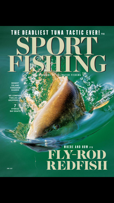 Sport Fishing Magazine screenshot 1