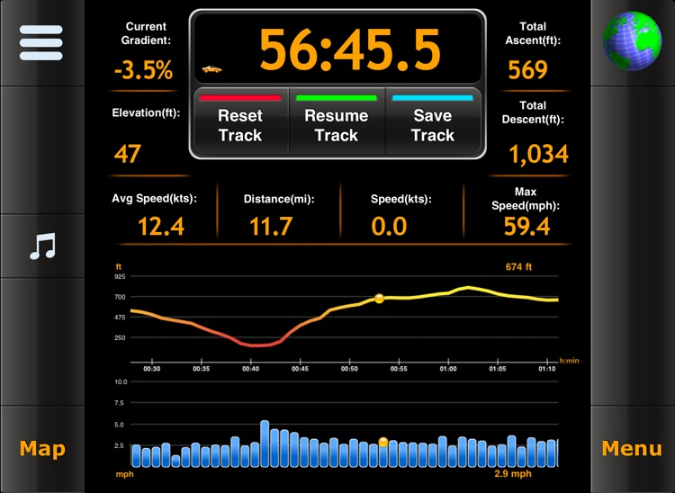 MotionX GPS HD screenshot-4