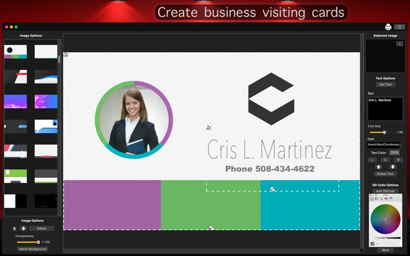 InstaCards - Business Card for Mac