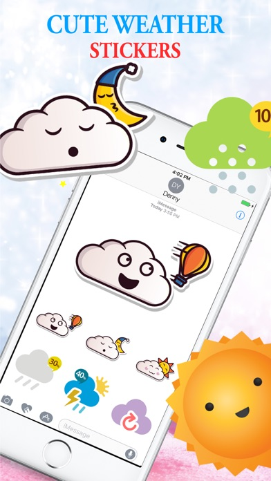 Lovely Weather Stickers