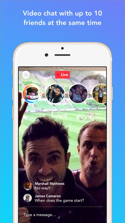 Bubble - Group Video Chat & Group Text screenshot-3