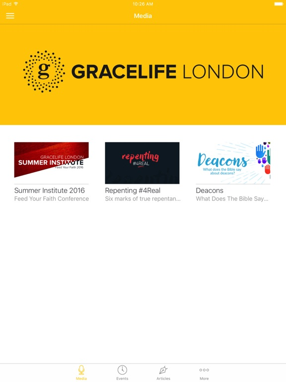 GraceLife London Church App screenshot 4