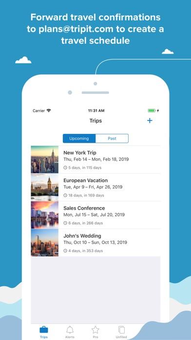 TripIt: Travel Planner Screenshot on iOS