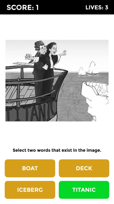 Words in Pics - Drawing Puzzle screenshot 2