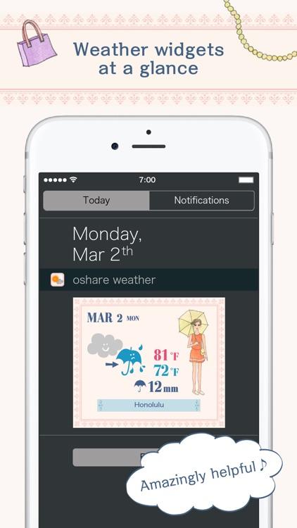 Oshare Weather screenshot-4