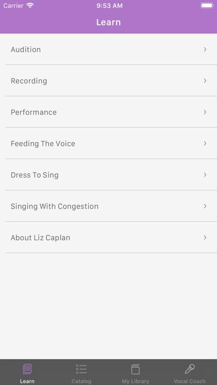 Liz Caplan Vocal Coach screenshot-4