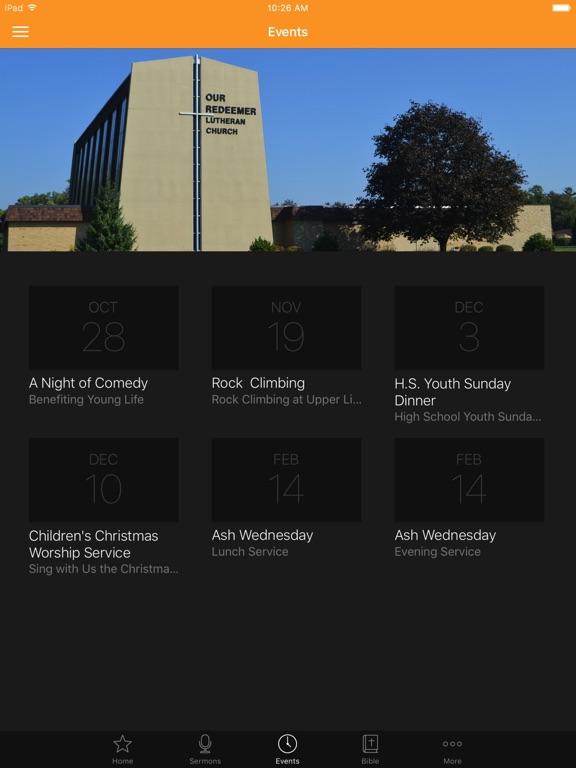 Our Redeemer Bloomington IL screenshot 6