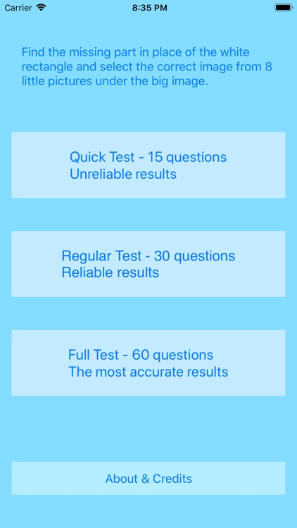 IQ TEST - WHAT IS YOUR WISDOM?