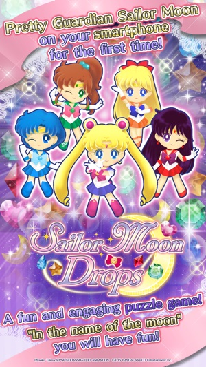 Sailor Moon Drops On The App Store