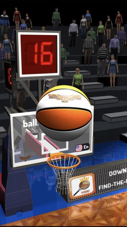 Basketball 3D Shooting Contest screenshot-3