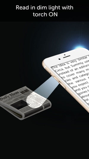 Magnifier with Flash Light Screenshot