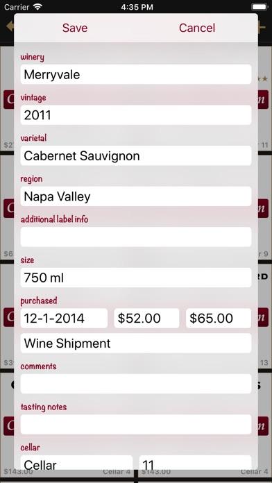 Screenshot for Bottles - Wine Cellar Manager in Lebanon App Store