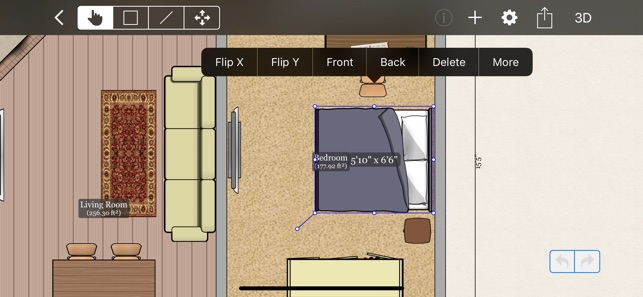 New Room Furniture Planner App