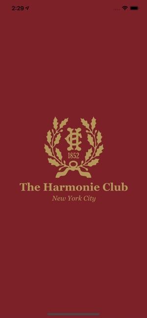 harmonie club membership cost