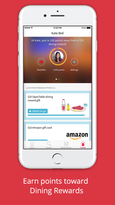 Screenshot 4 for OpenTable's iPhone app'