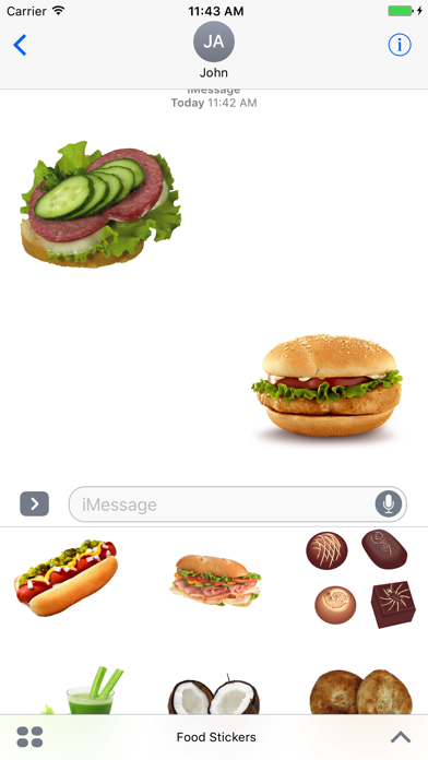 Food Stickers !!