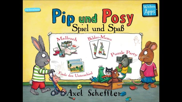Axel Scheffler's Pip und Posy