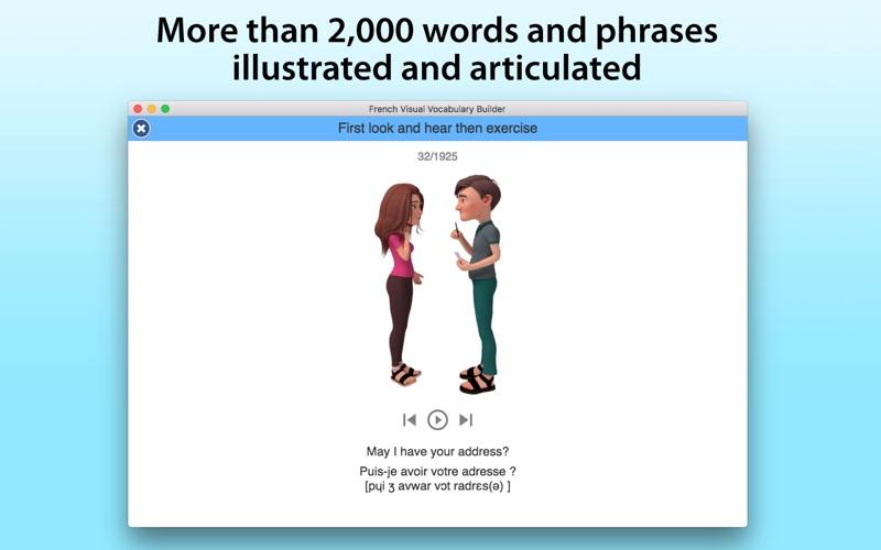 French Vocabulary Builder screenshot 1